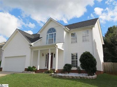 Greer SC Single Family Home For Sale: $250,000
