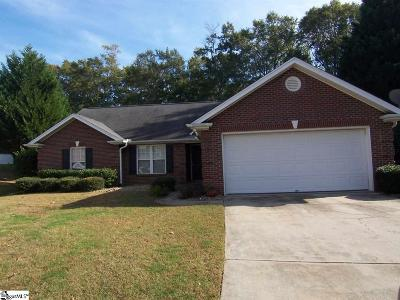 Simpsonville SC Rental For Rent: $1,450