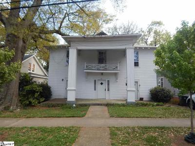 Greenville Multi Family Home For Sale: 211 W Earle