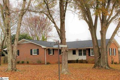 Greenville Single Family Home For Sale: 101 Leyswood