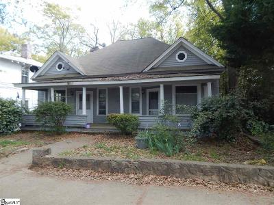 Greenville Multi Family Home For Sale: 215 W Earle