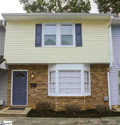 Greenville County Condo/Townhouse For Sale: 69 Pine Creek