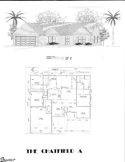 Anderson Single Family Home Contingency Contract: 214 Thomas Welborn #Lot 24