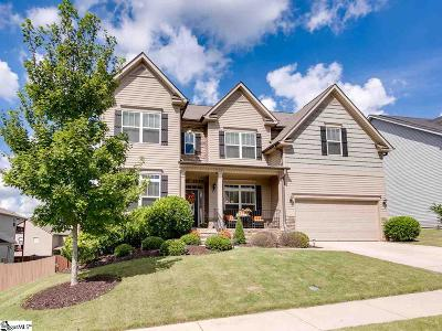 Simpsonville Single Family Home Contingency Contract: 227 Abbey Gardens