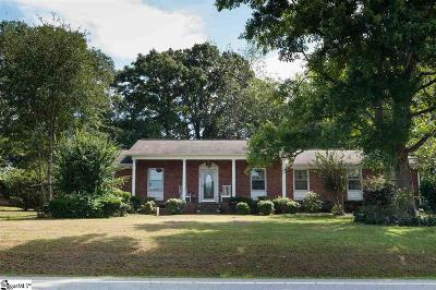 Boiling Springs Single Family Home For Sale: 850 Old Furnace