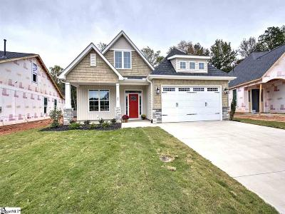 Mauldin Single Family Home For Sale: 40 Golden Apple