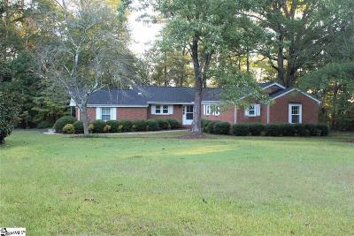 Greenville SC Single Family Home For Sale: $349,500