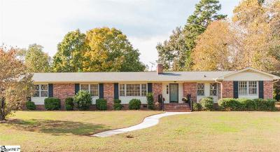 Greenville County Single Family Home Contingency Contract: 115 Danbury