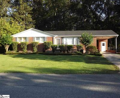 Taylors Single Family Home For Sale: 1 Ardmore
