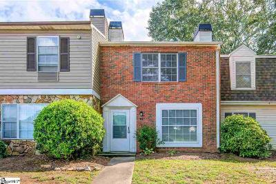 Greenville County Condo/Townhouse For Sale: 4 Birchview