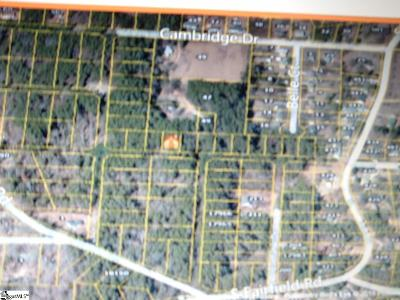Greenville Residential Lots & Land For Sale: Overlook