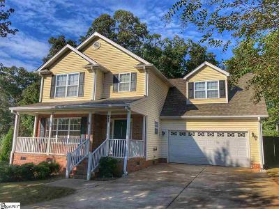 Inman Single Family Home For Sale: 153 Fagans Creek
