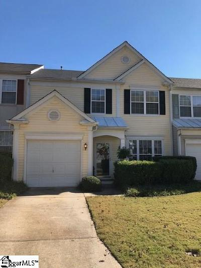 Greer Condo/Townhouse For Sale: 705 Treyford