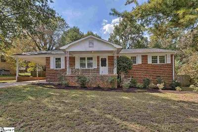 Taylors Single Family Home For Sale: 12 Fairford