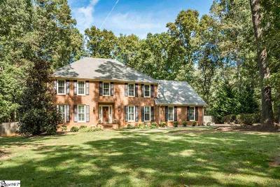 Spartanburg Single Family Home For Sale: 144 Woodridge