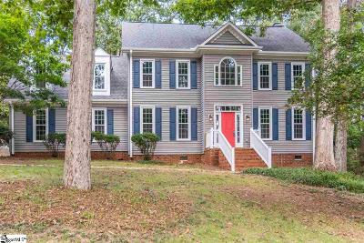 Greenville County Single Family Home For Sale: 3 Hidden Fawn