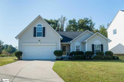 Greenville County Single Family Home Contingency Contract: 507 Riello