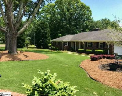 Greenville Single Family Home Contingency Contract: 208 Viewmont