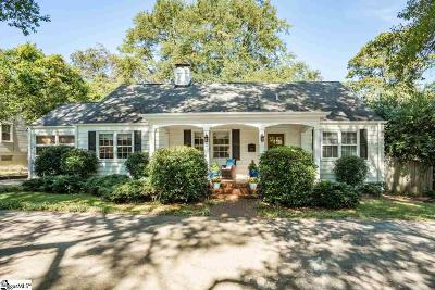 Greenville Single Family Home Contingency Contract: 423 E Faris