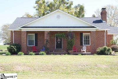 Laurens Single Family Home Contingency Contract: 3235 Neely Ferry