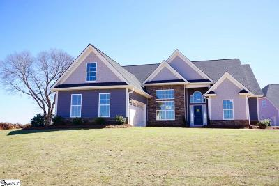 Simpsonville Single Family Home For Sale: 401 Meadowcroft #Homesite
