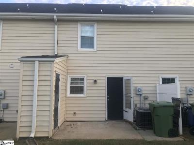 Greenville County Condo/Townhouse For Sale: 123 Trailside
