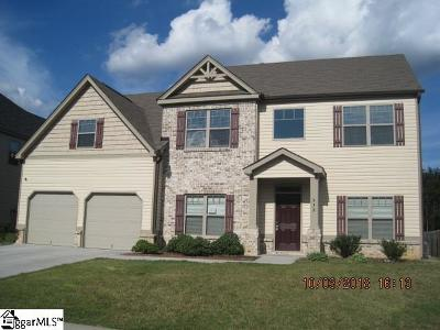 Simpsonville Single Family Home For Sale: 312 Bellona