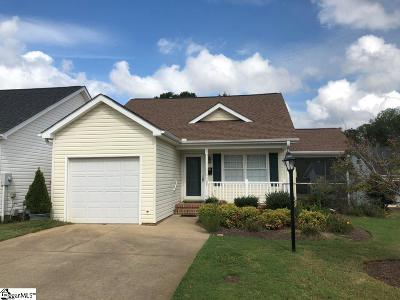 Easley Single Family Home For Sale: 307 Cobblestone
