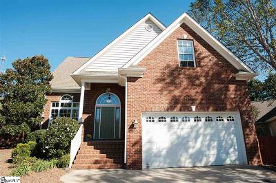 Simpsonville Single Family Home For Sale: 21 Magnolia Place