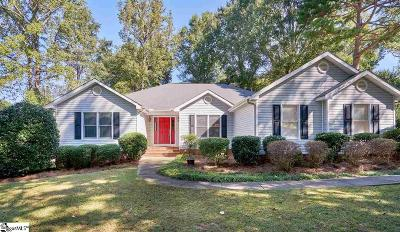 Simpsonville Single Family Home For Sale: 103 Quail