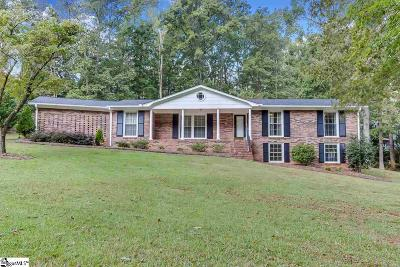Easley Single Family Home For Sale: 105 Pearle