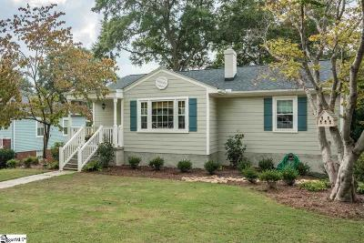 Greenville Single Family Home For Sale: 122 W Circle