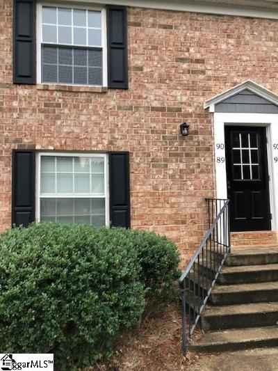Greenville Condo/Townhouse For Sale: 925 Cleveland #unit 90