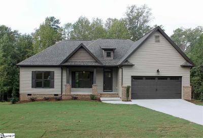 Piedmont Single Family Home For Sale: 125 Mountain Lake
