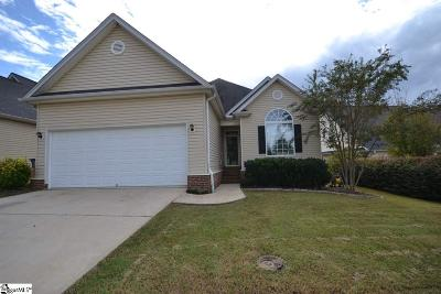 Greenville County Single Family Home For Sale: 205 Summergrass