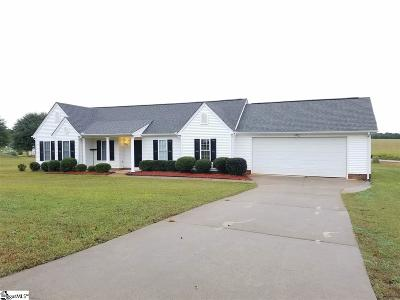 Pelzer Single Family Home For Sale: 115 Maxton