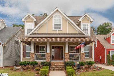Simpsonville Single Family Home For Sale: 309 Iron Bridge