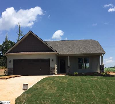 Greer Single Family Home For Sale: 402 Bridlecrest #Lot 2