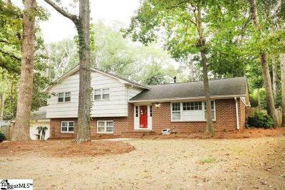 Greenville Single Family Home For Sale: 105 Dove Tree