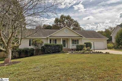 Greenville Single Family Home For Sale: 402 Hedgerow