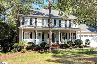 Greer Single Family Home Contingency Contract: 106 Woodway