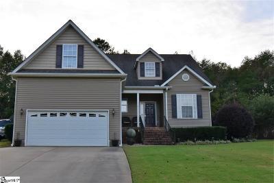 Greer Single Family Home For Sale: 514 Nichole