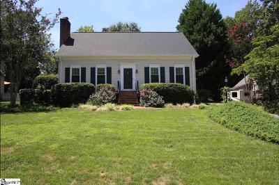 Taylors Single Family Home For Sale: 204 Spring View