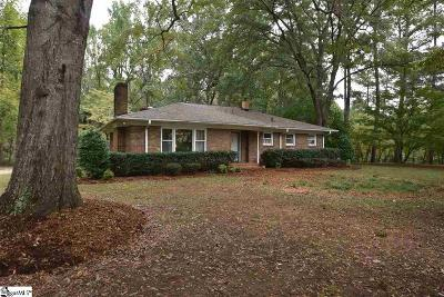 Easley Single Family Home For Sale: 801 Crestview