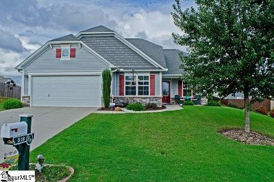 Boiling Springs Single Family Home Contingency Contract: 518 Goldstone