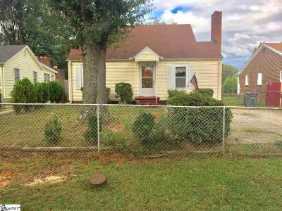 Greenville Single Family Home Contingency Contract: 133 E Wilburn