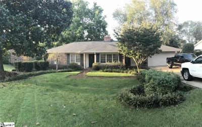 Greenville Single Family Home For Sale: 319 Mimosa