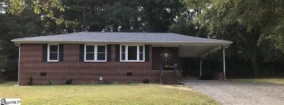 Greenville Single Family Home For Sale: 5 Lamar