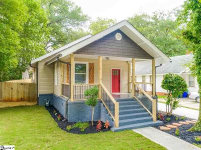 Greenville Single Family Home For Sale: 109 Ladson