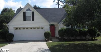 Simpsonville Single Family Home For Sale: 403 Ashridge